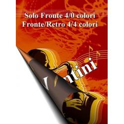 Volantino A6 fronte/retro