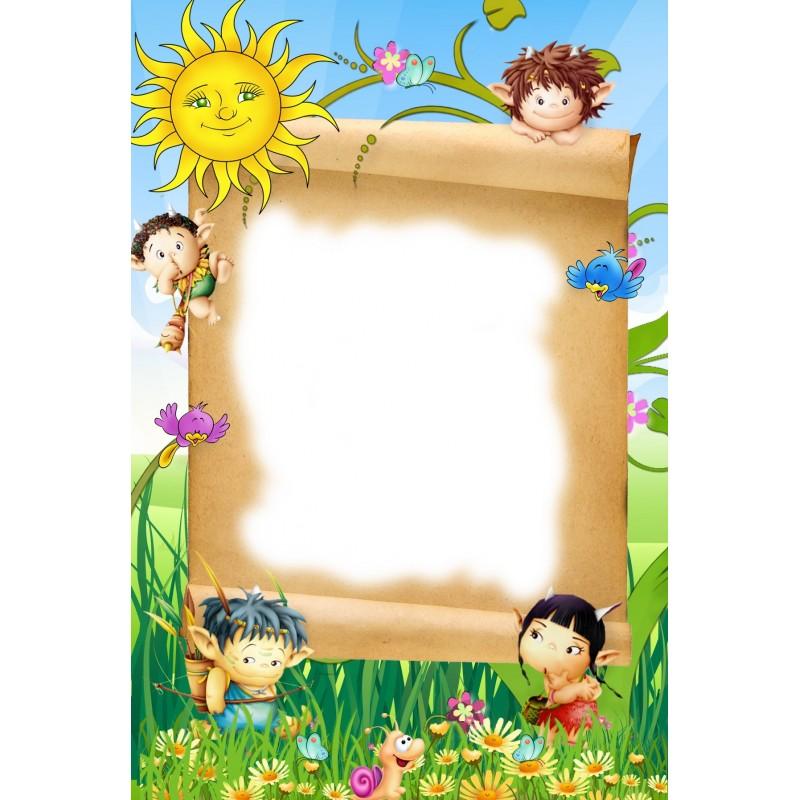 4 cornici per calendari bambini openprint s r l s for Foto cornici online
